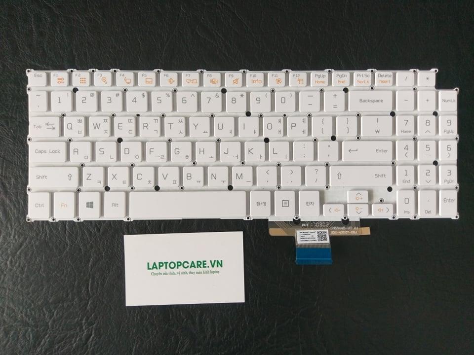 Phím Laptop LG 15DU560 trắng – đen Tiếng Hàn