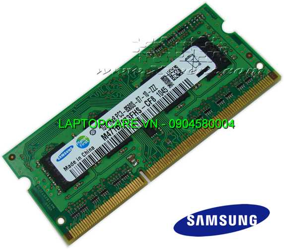 Ram laptop 1GB DDR3  bus 1066