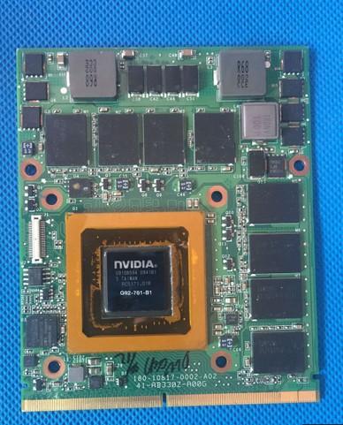 VGA Alienware M17x R1 Nvidia